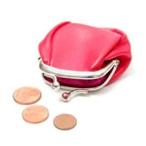 Buntes Portemonnaie