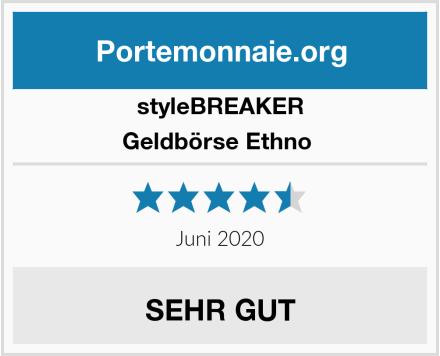 styleBREAKER Geldbörse Ethno  Test