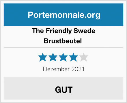 The Friendly Swede Brustbeutel  Test