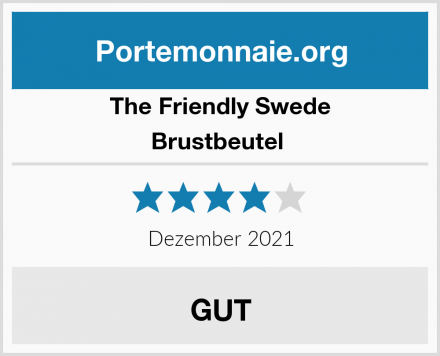 The Friendly Swede Brustbeutel  Test