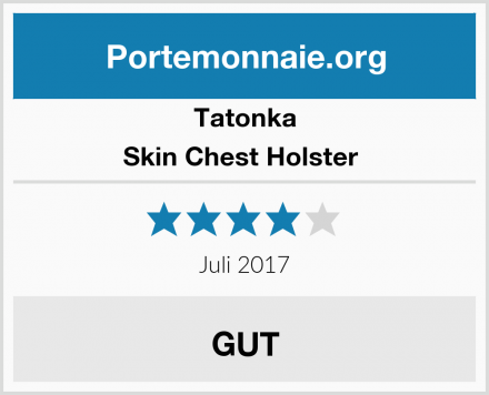 Tatonka Skin Chest Holster  Test