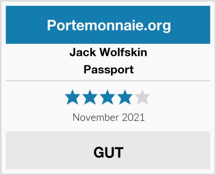Jack Wolfskin Passport Test