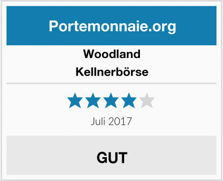 Woodland Kellnerbörse Test