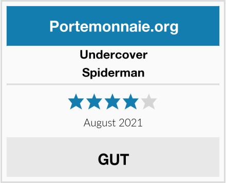 Undercover Spiderman Test