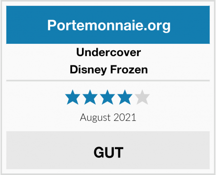 Undercover Disney Frozen Test