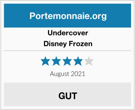 Undercover Disney Frozen Test