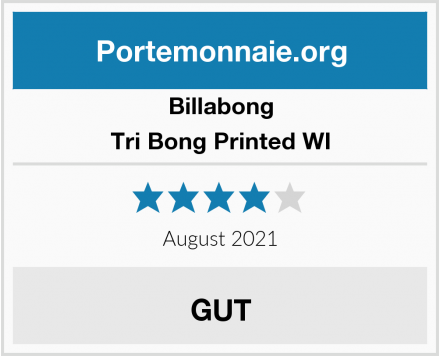 Billabong Tri Bong Printed WI Test