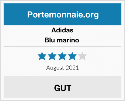 Adidas Blu marino  Test