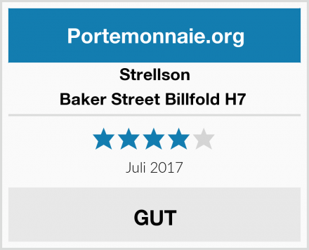 Strellson Baker Street Billfold H7  Test