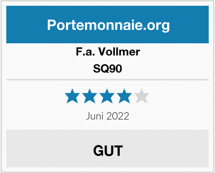 F.a. Vollmer SQ90 Test