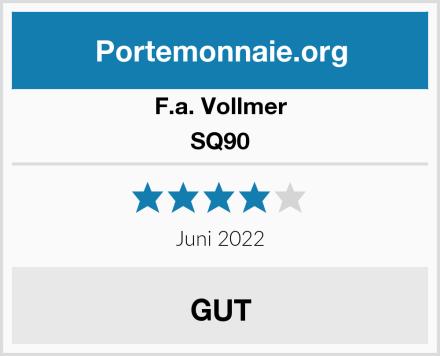 F.a. Vollmer SQ90 Test