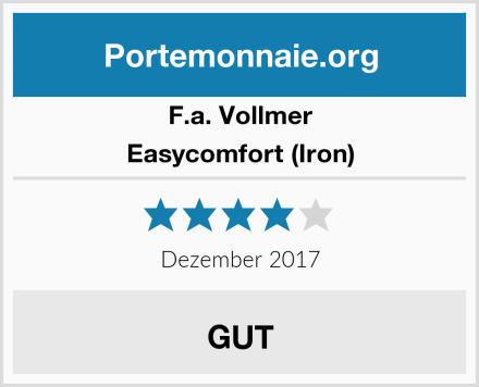 F.a. Vollmer Easycomfort (Iron) Test