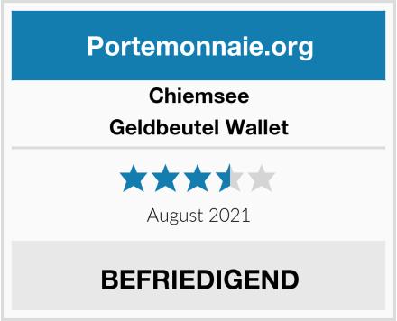 Chiemsee Geldbeutel Wallet Test