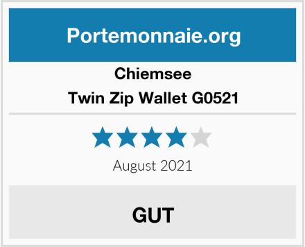 Chiemsee Twin Zip Wallet G0521 Test