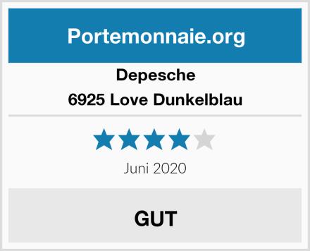 Depesche 6925 Love Dunkelblau Test
