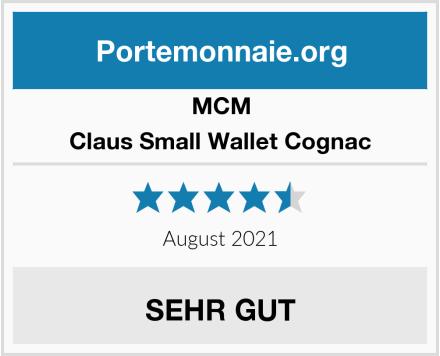 MCM Claus Small Wallet Cognac Test