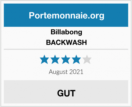 Billabong BACKWASH Test