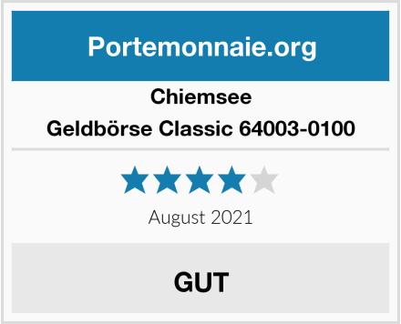 Chiemsee Geldbörse Classic 64003-0100 Test