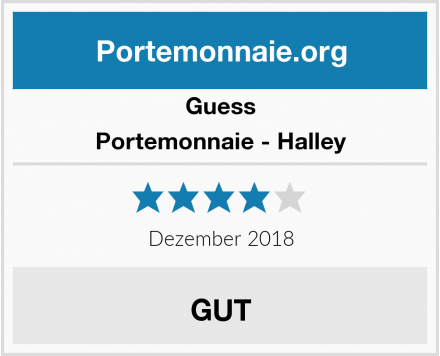 Guess Portemonnaie - Halley Test
