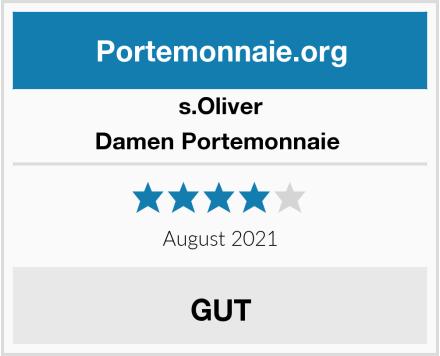 s.Oliver Damen Portemonnaie  Test