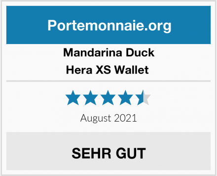 Mandarina Duck Hera XS Wallet  Test
