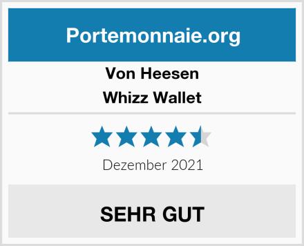 Von Heesen Whizz Wallet Test