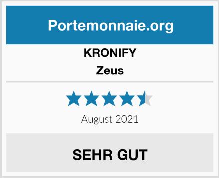 KRONIFY Geldbörse Herren Zeus Test