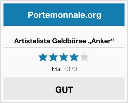 """Artistalista Geldbörse """"Anker"""" Test"""