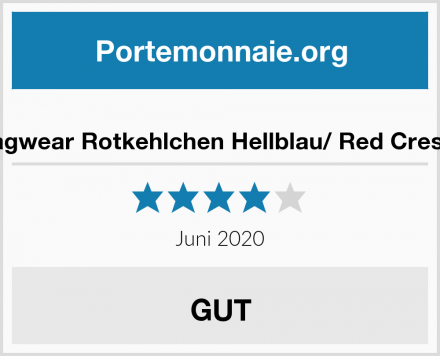 Shagwear Rotkehlchen Hellblau/ Red Crested Test