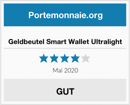 Geldbeutel Smart Wallet Ultralight Test