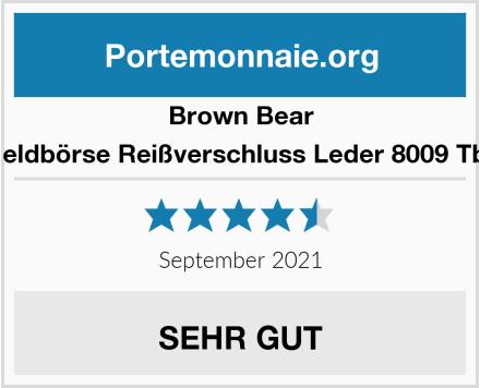 Brown Bear Geldbörse Reißverschluss Leder 8009 Tbr Test