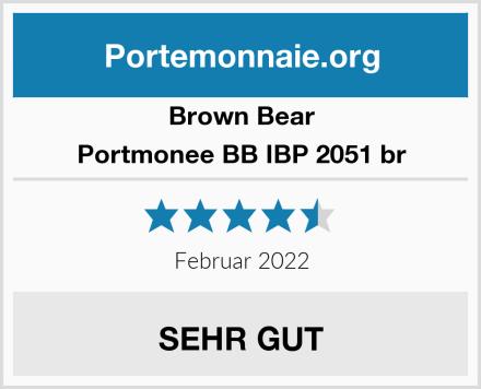 Brown Bear Portmonee BB IBP 2051 br Test