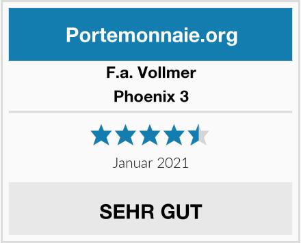 F.a. Vollmer Phoenix 3 Test