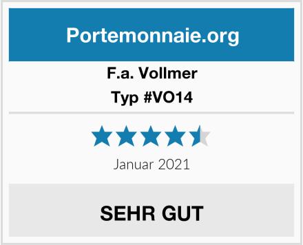 F.a. Vollmer Typ #VO14 Test