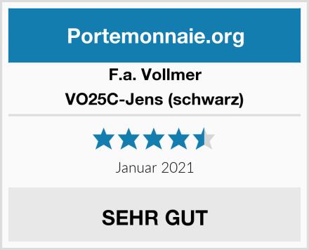 F.a. Vollmer VO25C-Jens (schwarz) Test