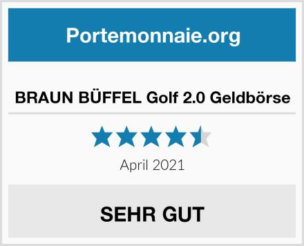 BRAUN BÜFFEL Golf 2.0 Geldbörse Test