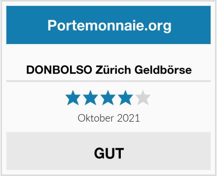 DONBOLSO Zürich Geldbörse Test