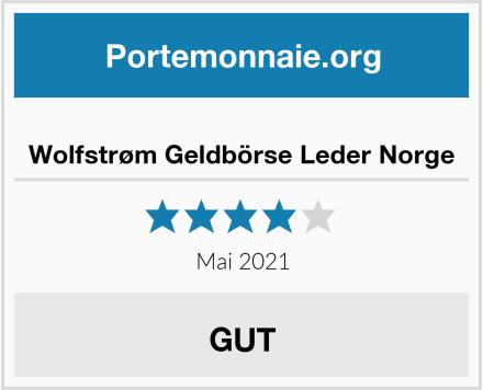 Wolfstrøm Geldbörse Leder Norge Test