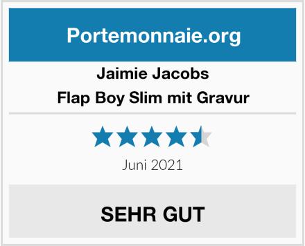 Jaimie Jacobs Flap Boy Slim mit Gravur Test