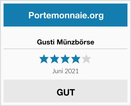Gusti Münzbörse Test