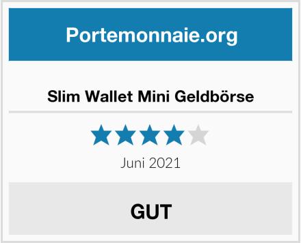 Slim Wallet Mini Geldbörse Test
