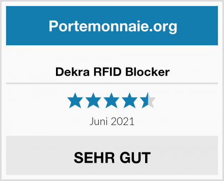 Dekra RFID Blocker Test