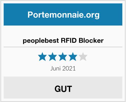 peoplebest RFID Blocker Test