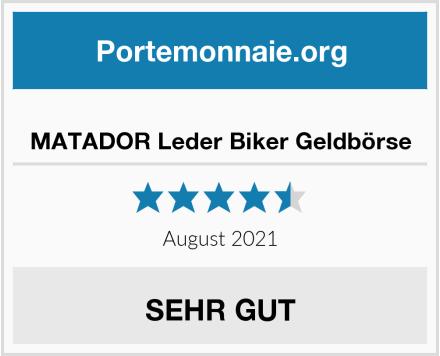 MATADOR Leder Biker Geldbörse Test