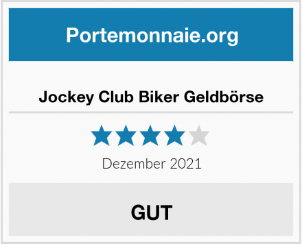 Jockey Club Biker Geldbörse Test