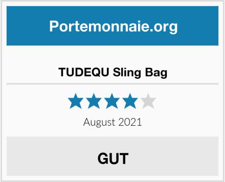 TUDEQU Sling Bag Test