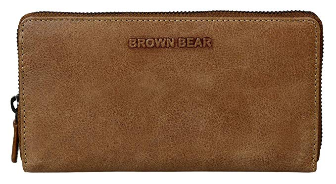 Brown Bear Coole Design Geldbörse