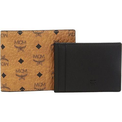MCM Claus Small Wallet Cognac