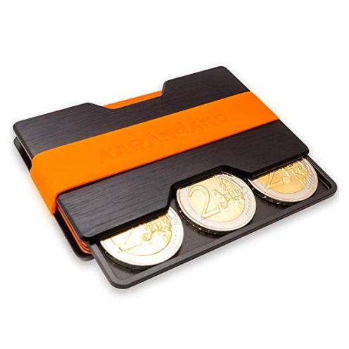 Aarándano Kreditkartenetui mit Münzfach