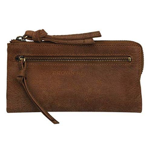 Brown Bear Damen Portemonnaie Leder